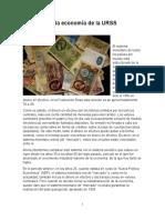 El Dinero en La Economía de La URSS