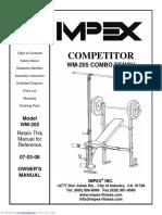 Competitor Wm205