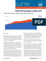 Alberta's Budget Deficit