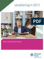 02 Vergoedingenwijzer 2017 Zilveren Kruis Met Vitaal 90483