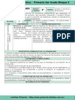 Plan 3er Grado - Bloque 3 Matemáticas (2016-2017)