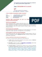 Ficha Agroquimicos y La Salud