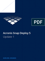 Acronis SNAP DEPLOY 5 - Manual Del Usuario