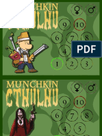 5500 Munchkin - Cthulhu - Character Cards