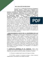 Contrato/convenio colectivo del sector Construcción (2010, 2011, 2012)