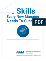 5 Skills Every New Manager