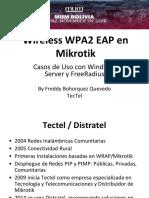 Mikrotik Wireless WPA2 EAP