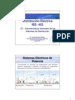 IEE 453 - Distribución Eléctrica C1