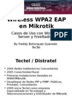 Mikrotik Wireless WPA2 EAP PTP