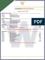 2017 UW Invite_Final Schedule