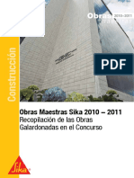 Obras Maestras Sika 2010-2011