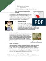 Active TMJ Exercises for Patients
