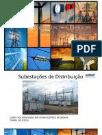 Apresentação sobre Subestações de distribuição
