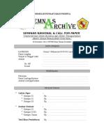 Formulir Pendaftaran Semnas Archive 1