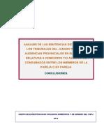 Estudio Sentencias Tj y AP Muertes Pareja o Expareja 2011