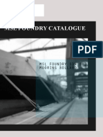 Msl Foundry Bollard Catalogue