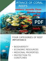 Importance of Reefs