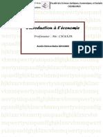 Introduction a l e Conomie