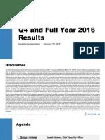 Novartis NVS Q4 2016 Ir Presentation