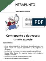 4 Contrapunto - Cuarta Especie