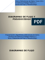 Diagrama de Flujo y Pseudocodigo