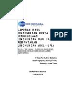 Contoh Laporan RKL-RPL BLH