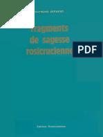Fragments de Sagesse Rosicrucienne (1977)