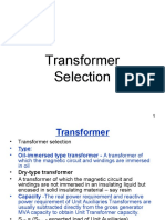 Lect#15 Transformer Selection