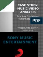 Case Study Music Videos
