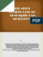 Strategi Pembelajaran Dan Metodenya