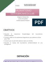 TRAUMATISMO-VERTEBROMEDULAR