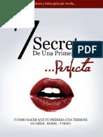 7 Secretos de Una Primera Cita Perfecta