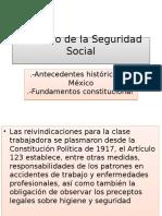 Derecho de la Seguridad Social en México