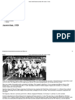 Olympic Football Tournament Amsterdam 1928 - Overview - FIFA