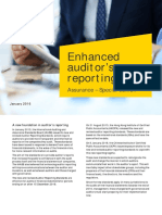 EY Enhanced Auditors Reporting