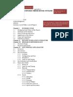 Thesis Proposal - Appendix a Template