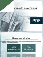 Características de Los Genomas