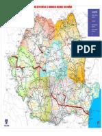 Reteaua Autostrazilor Si DN-urilor Din Romania Mai 2016