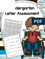 kindergartenletterassessmentpack