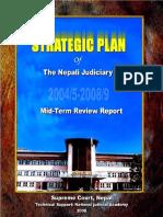 Mid Term Review Report - Strategic Plan 2004-2008 - Nepali Judiciary