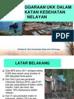 Penyelenggaraan Ukk Dalam Peningkatan Kesehatan Nelayan, Kepri