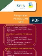 Pengajuan SPM