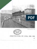Arquitectura en Lima 1800-1900