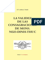 La validez de las consagraciones de Mons. Ngo-Dinh Thuc