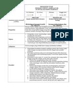 Primary Survey Ambulan 118, Sop