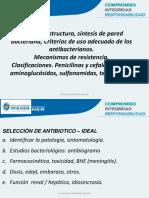T11, Antibacterianos, 2° parte