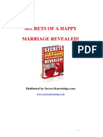 Secrets of a Happy Marriage