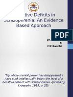 Cognitive Deficits SZ