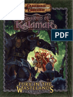 D&D 3.0 - Kingdoms of Kalamar - Fury in the Wastelands - The Orcs of Tellene