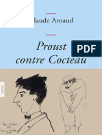 Proust Contre Cocteau - Arnaud, Claude